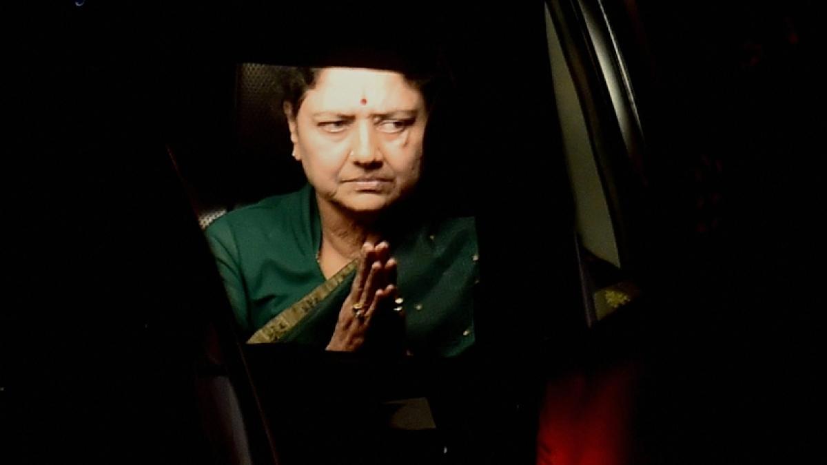 Sasikala applies for parole to meet ailing husband Natarajan