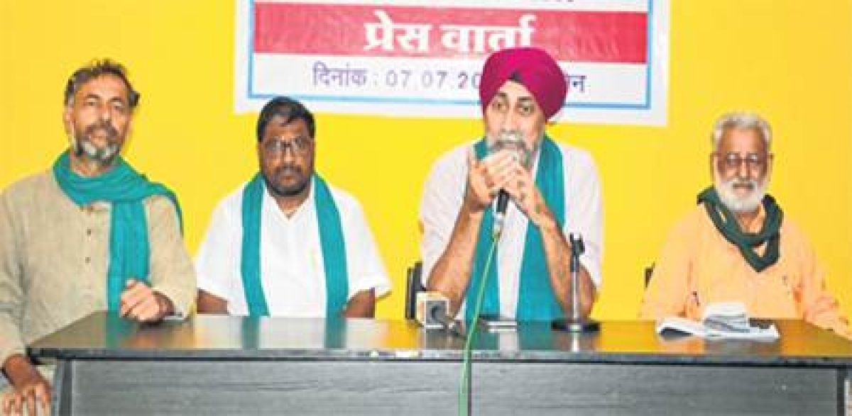 Ujjain: Union government patronising corporate sector instead of safeguarding farmers' interests, says AIFSCC