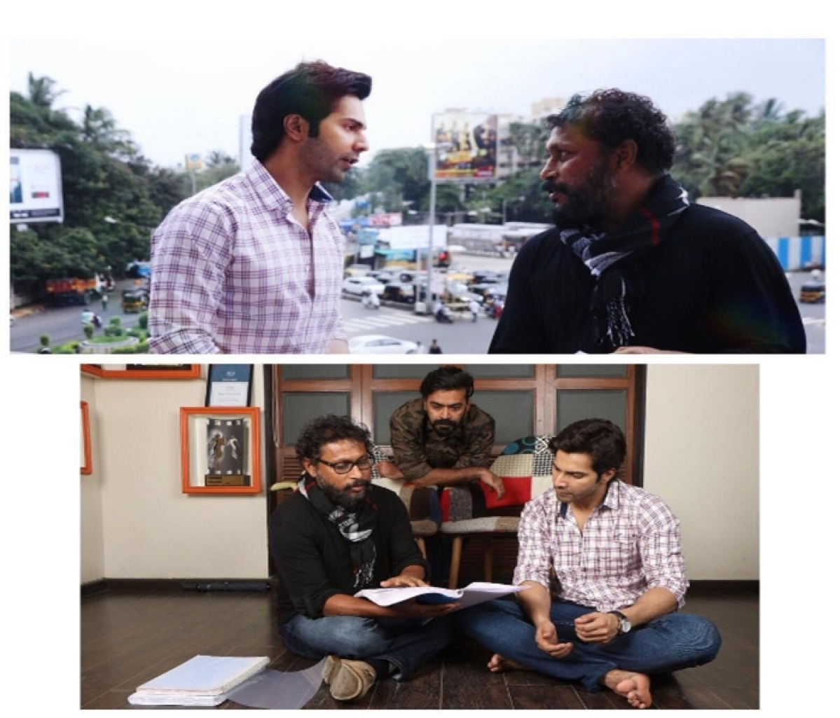 In Pictures: Varun Dhawan and Shoojit Sircar collaborate for unconventional story 'October'