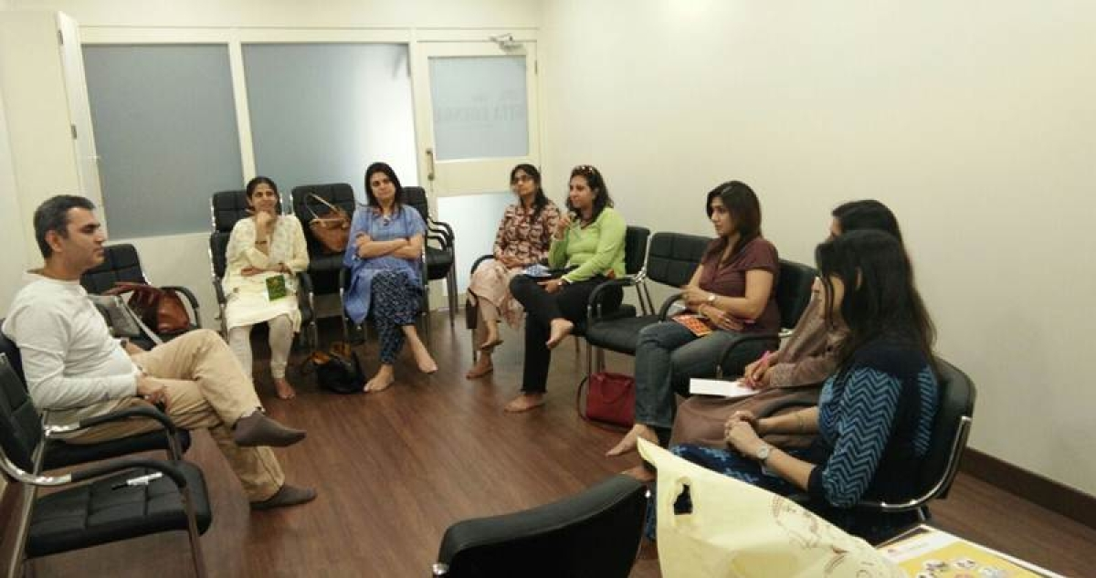 Art of Parenting workshop being conducted by Deepak Bharwani, director, Origin Corporate Services