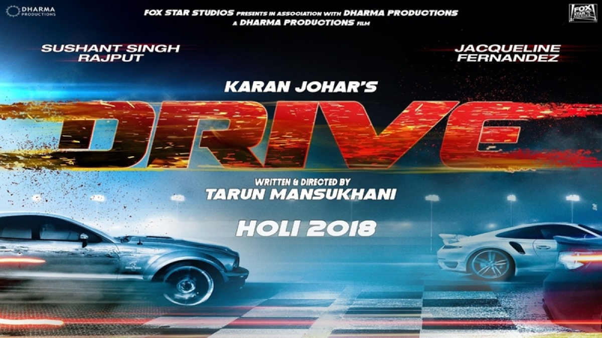 First Look: Sushant Singh Rajput and Jacqueline Fernandez to 'Drive' in on Holi 2018
