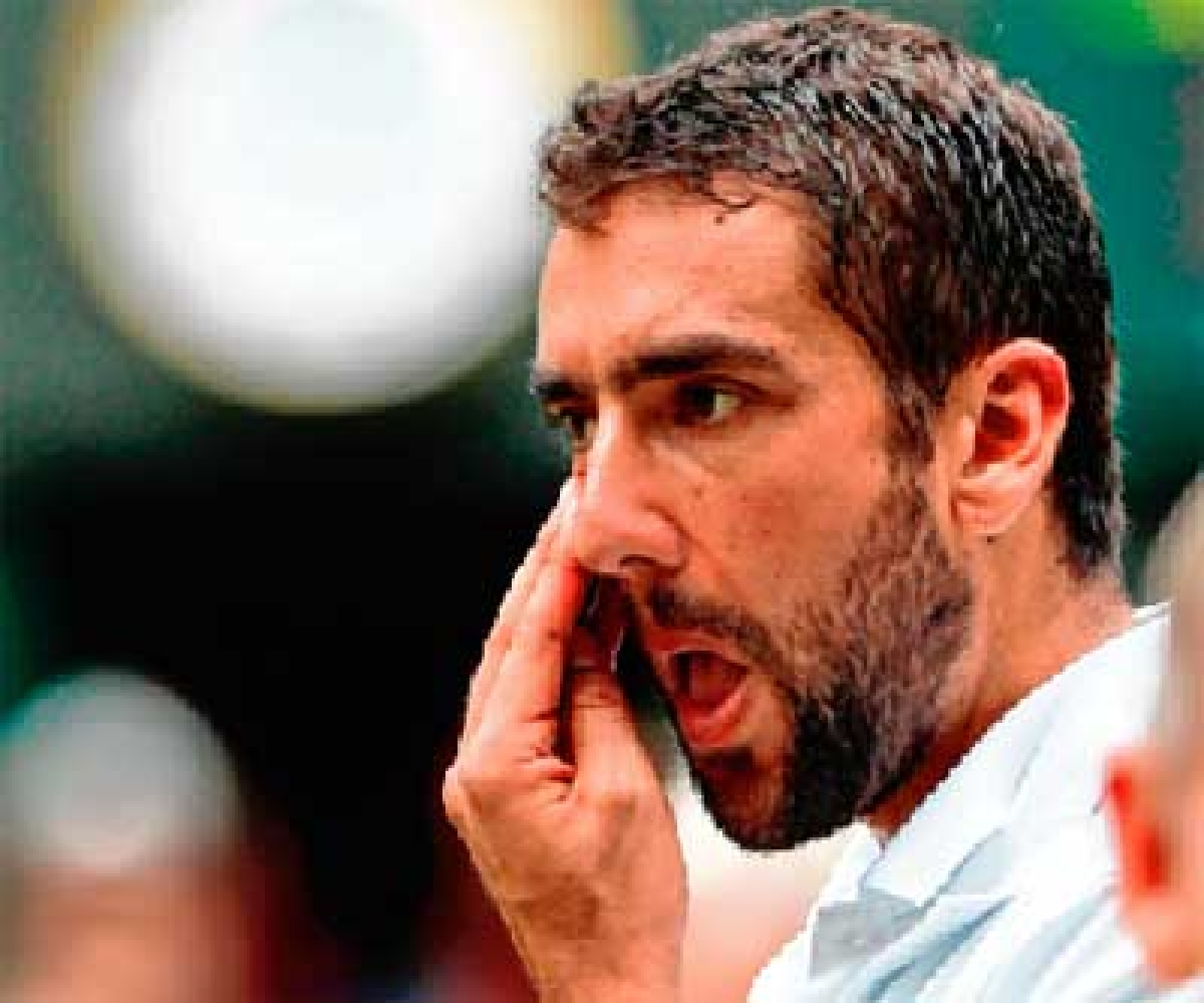 Marin Cilic reveals blister sparked tears