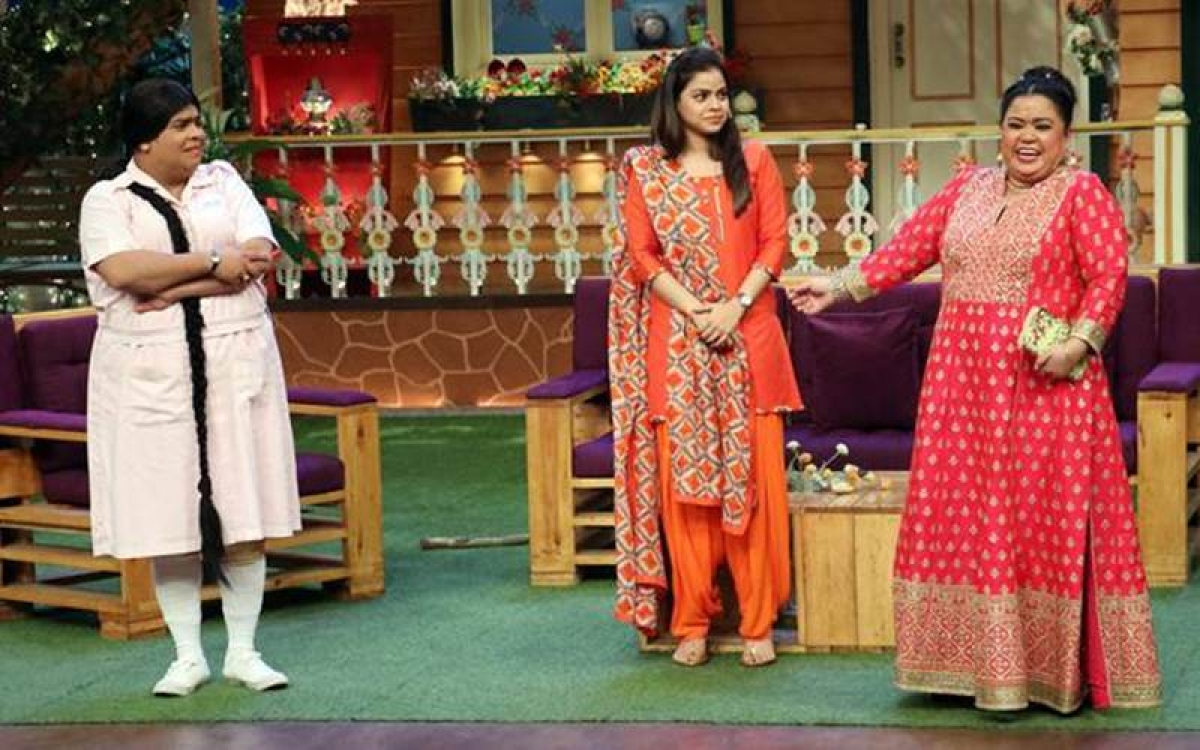 OMG! Kiku Sharda and Bharti fight on The Kapil Sharma set