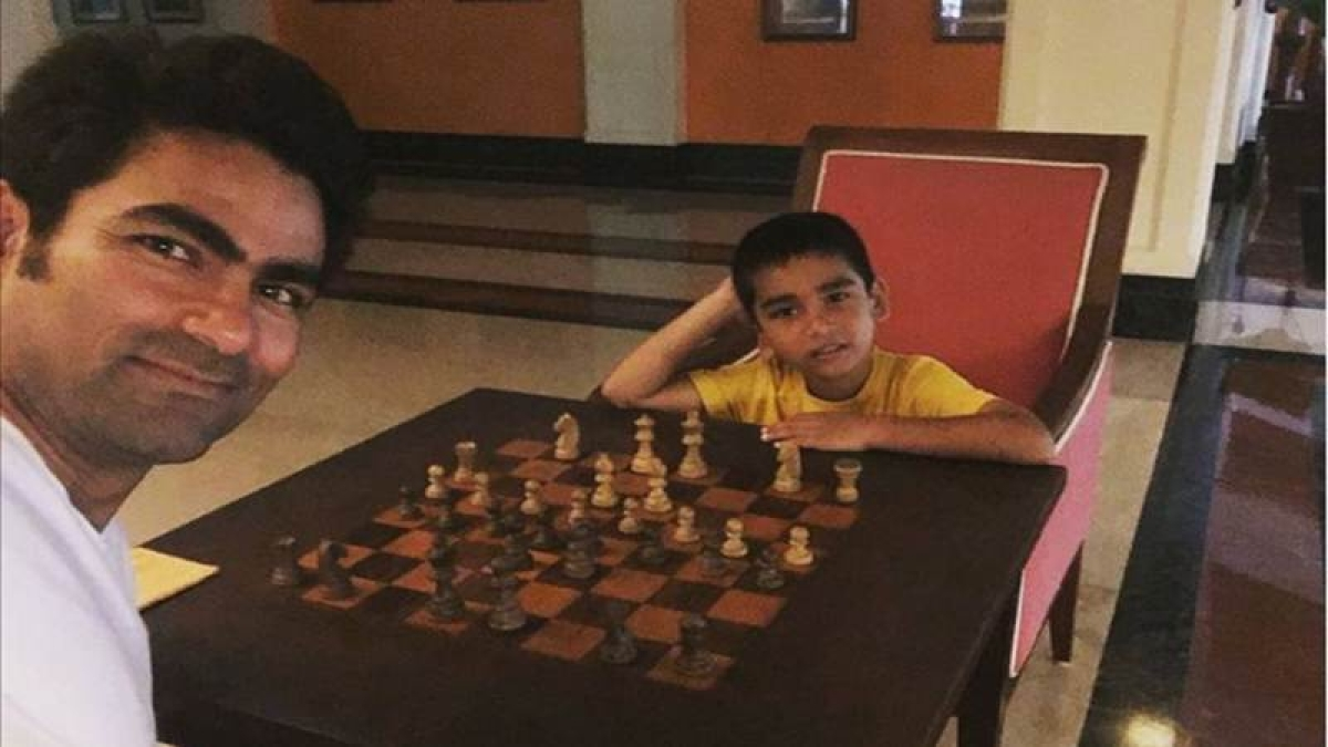 Mohammad Kaif trolled for playing chess with son, Muslim clerics defend cricketer
