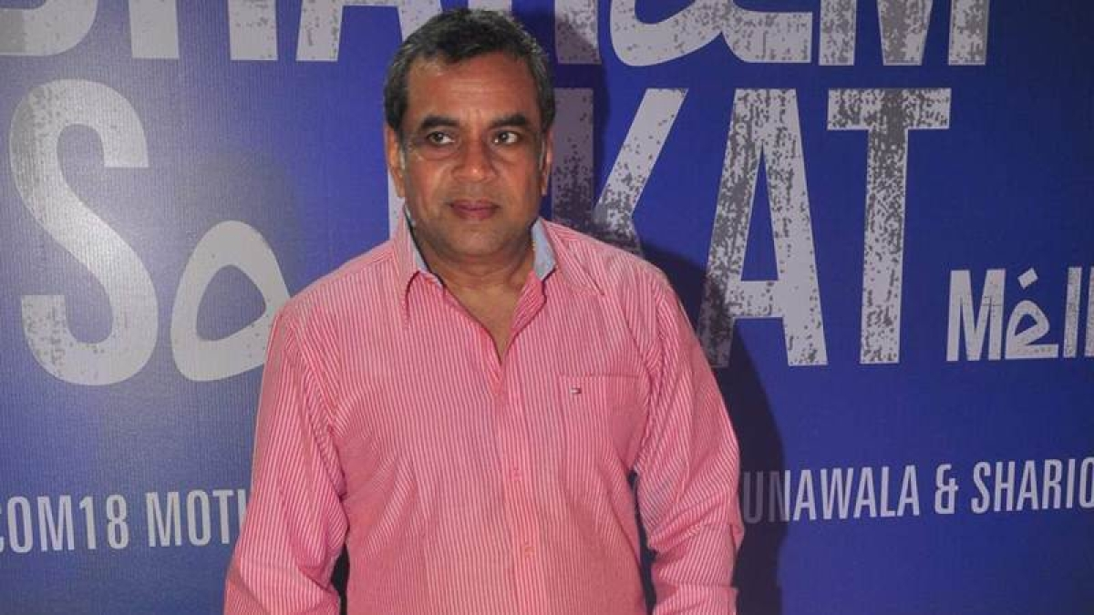 Paresh Rawal is proud to be politically incorrect