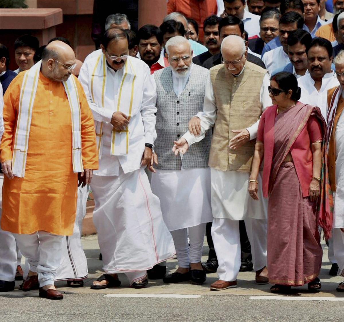 Sushma Swaraj was a 'sister' who used to tie rakhi to me every year: Venkaiah Naidu