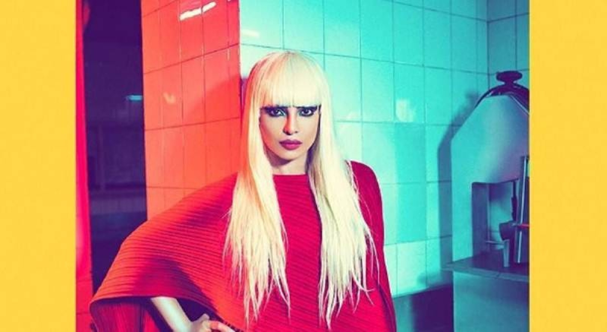 Blonde is the new sexy for Priyanka Chopra