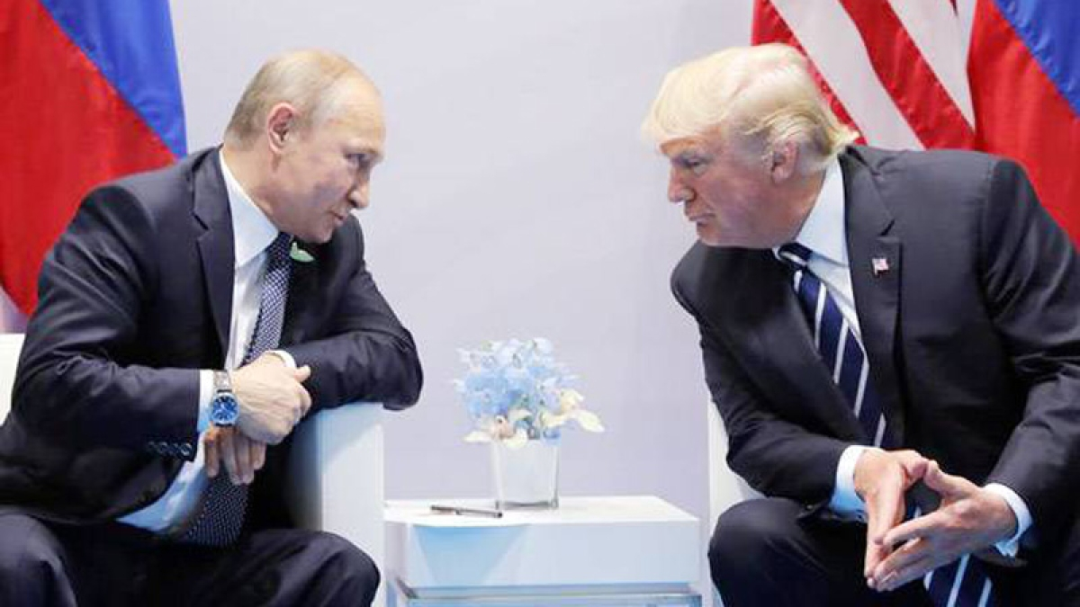 Russia didn't meddle in US election, Putin tells Trump