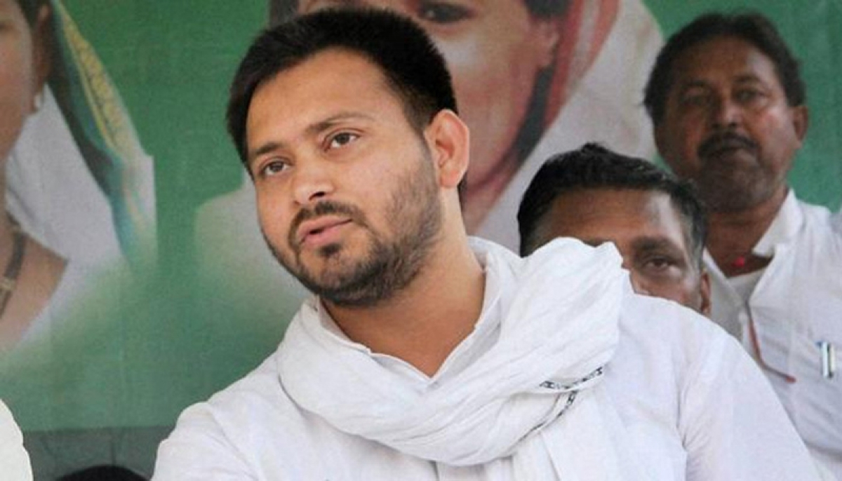 Tejashwi Yadav lashes out at Sushil Modi for accusations about  bungalow