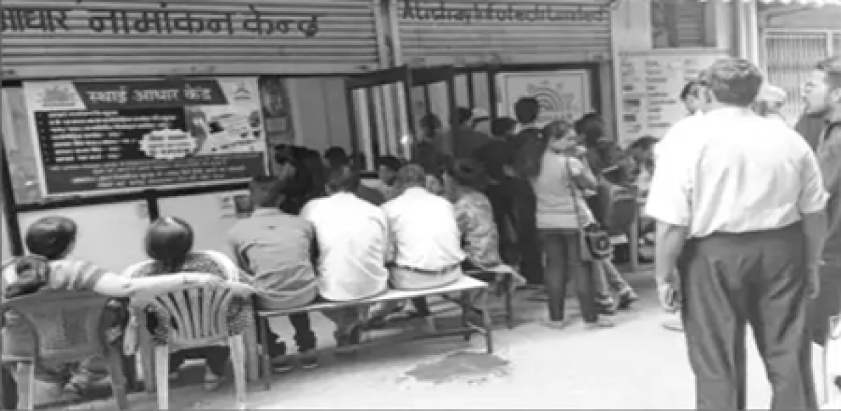 Bhopal: Aadhar centres see huge rush for corrections