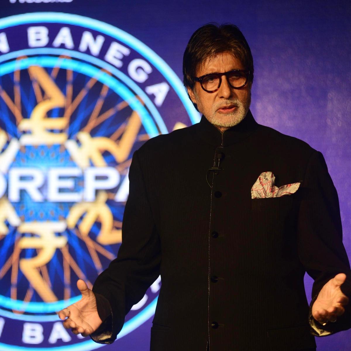 Amitabh Bachchan starts shooting for 'Kaun Banega Crorepati 12' amid the COVID-19 lockdown