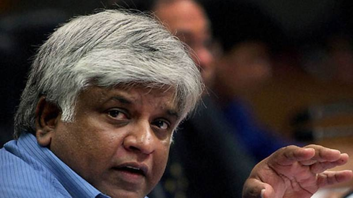 Arjuna  Ranatunga urges ICC to probe Sri Lanka Cricket chief