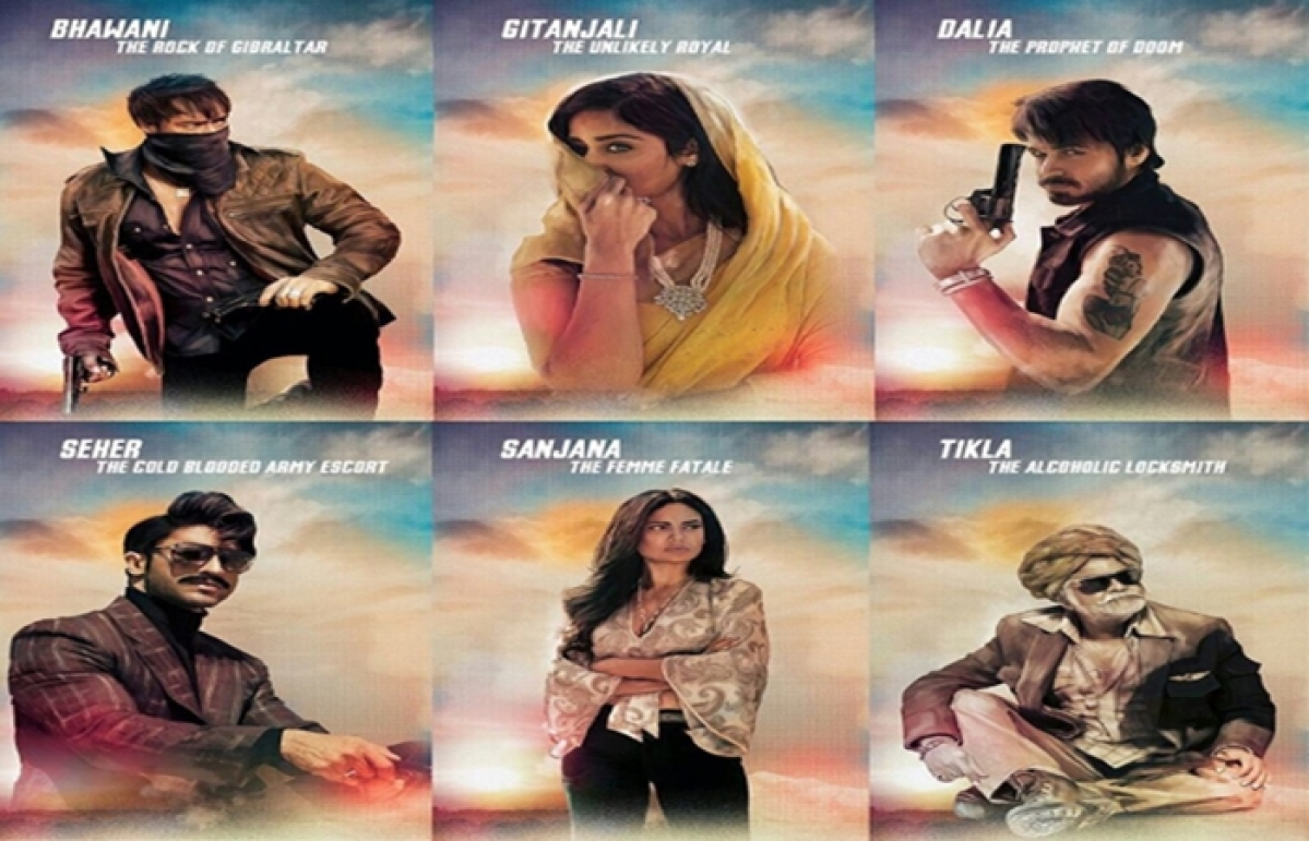 'Baadshaho' New Poster highlights different shades of all six characters