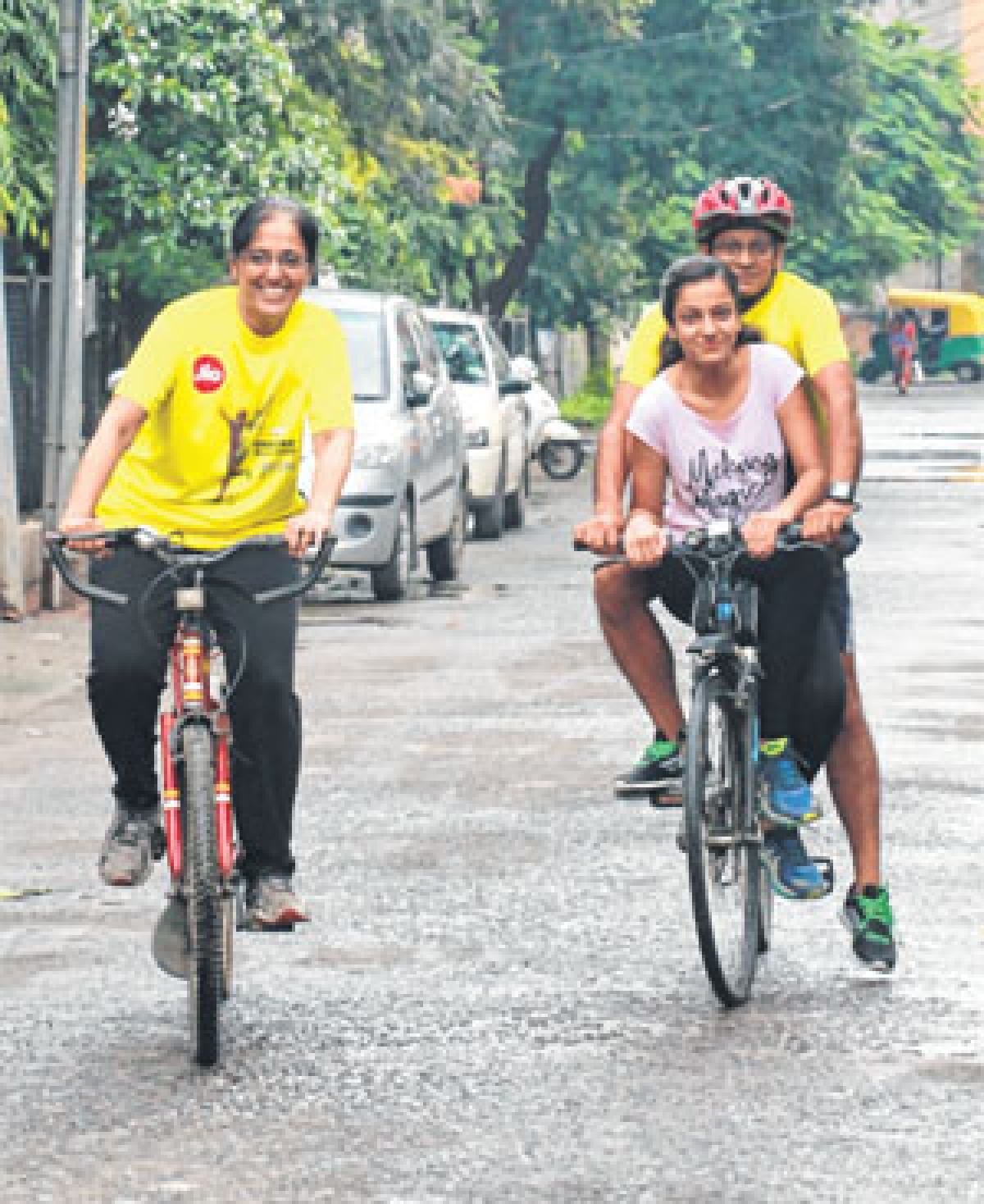 Free Press Cycling Initiative: 54-year-old pedal pusher young at heart and health