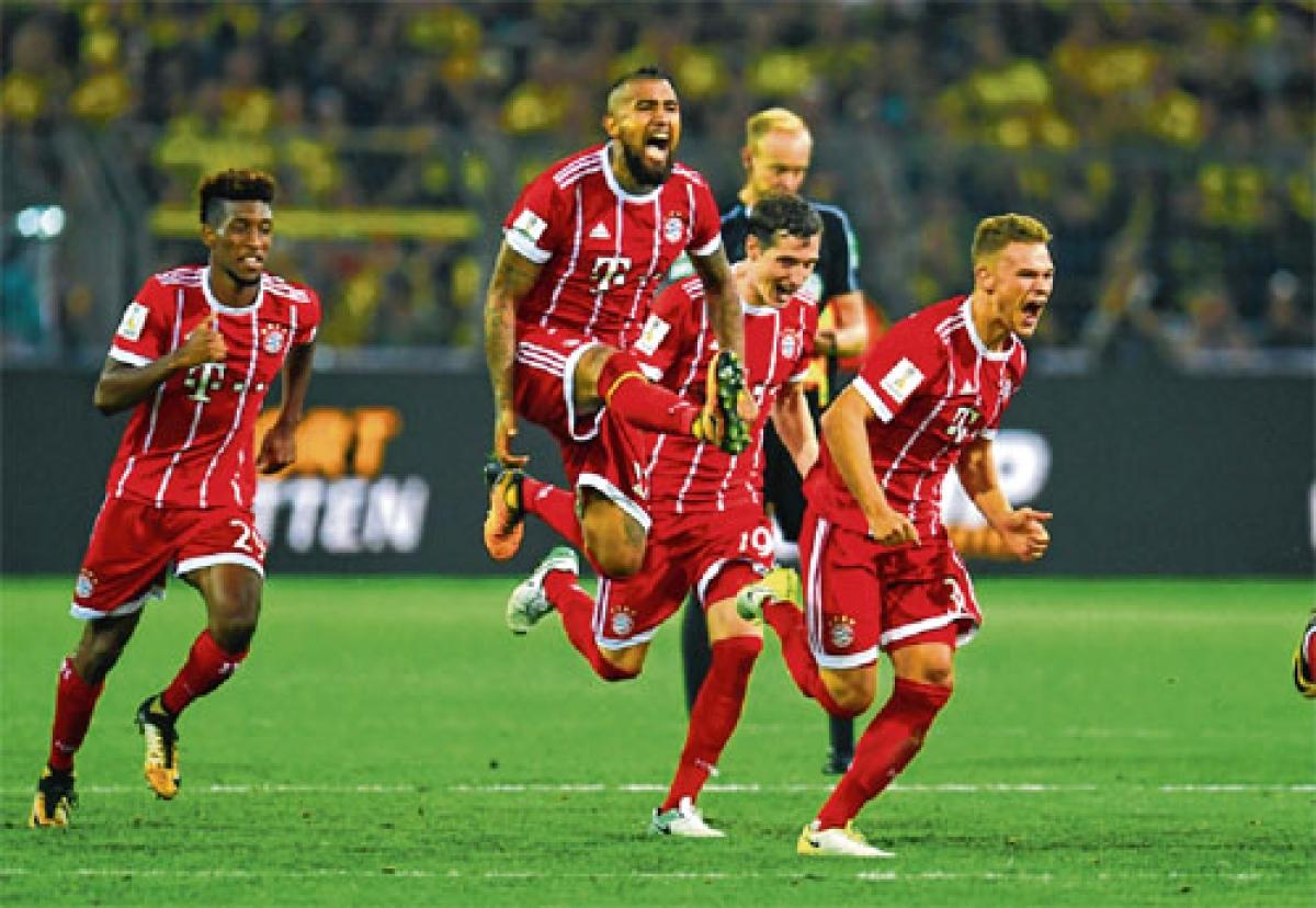 Bayern defeat Dortmund 5-4 on penalties to lift Supercup 2017