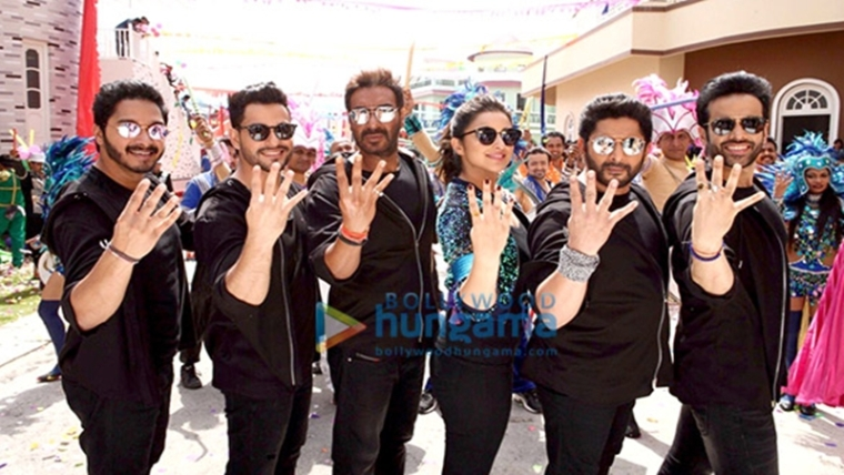 Check out: Golmaal Again cast shoots title track of the film in Hyderabad