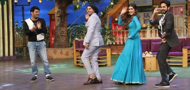 The Kapil Sharma Show: 'Bareilly Ki Barfi' stars Ayushmann, Kriti