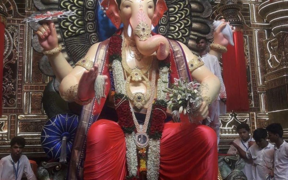 Ganesh Chaturthi 2017: Pictures from Mumbai's famous Ganpati pandals