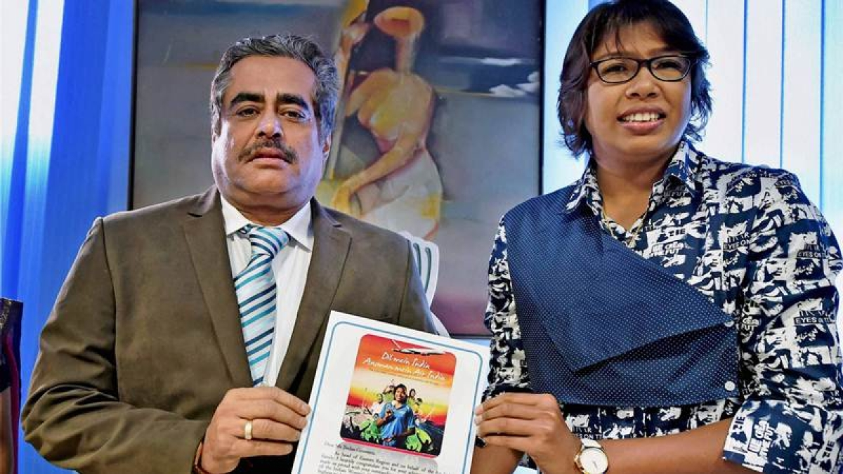 India pacer Jhulan Goswami felicitated by employers Air India