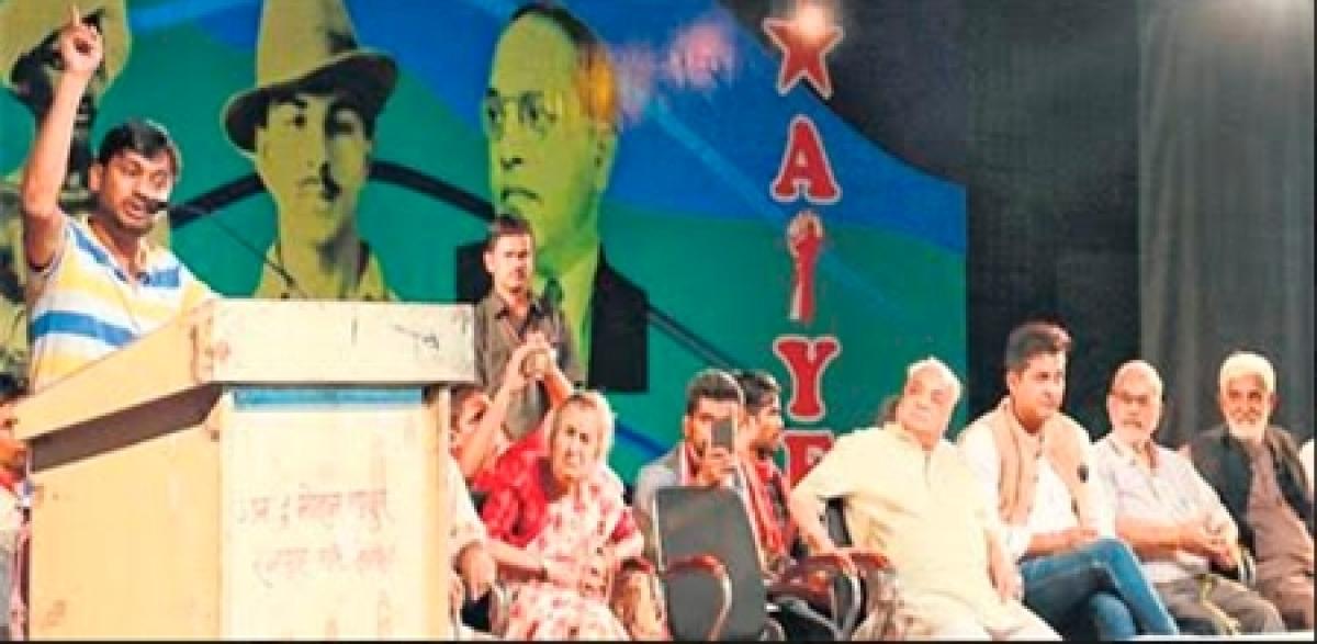 Indore: Modi government a nightmare, spreads intolerance: Kanhaiya