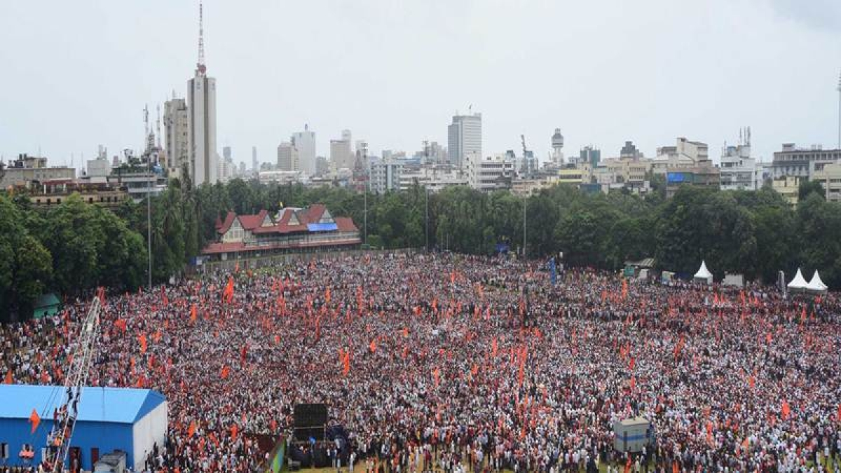 Maratha Protests: Security up, medical help provided to needy marchers