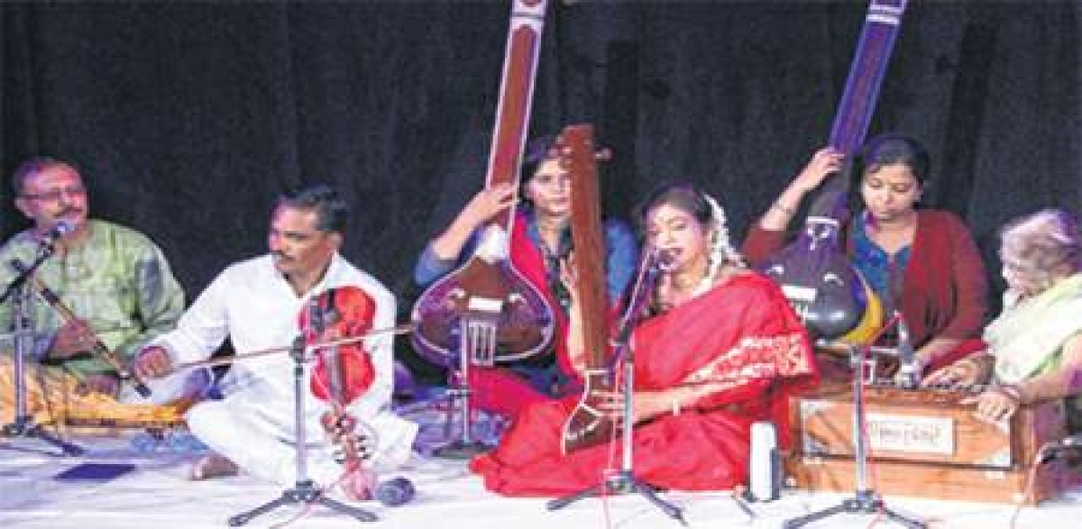 Bhopal: Musical programme held under 'Uttradhikar' series