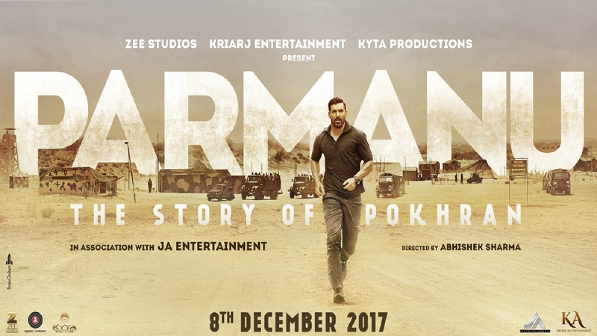 John Abraham's Parmanu – The Pokhran Story expected to make Rs. 3-4 crore opening at Box Office