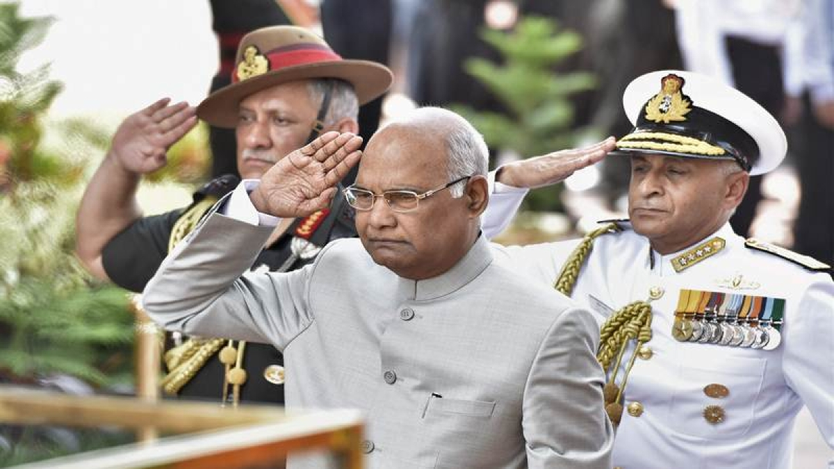 Ram Nath Kovind 's veiled attack against 'Padmaavat' protests