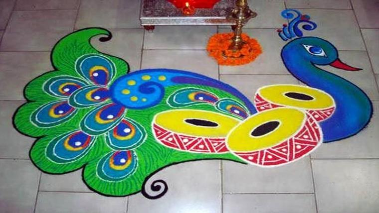582304e55 Ganesh Chaturthi 2017: Easy Rangoli designs and images