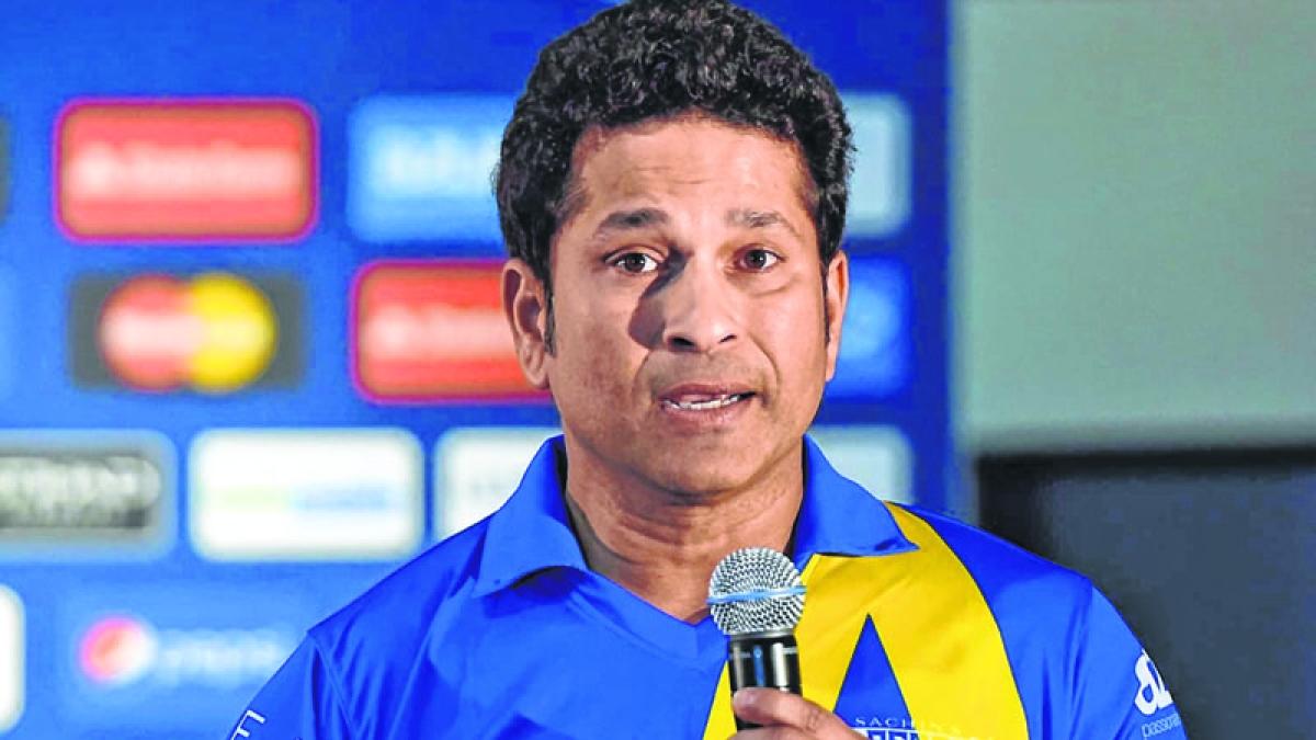 Sachin Tendulkar made T20 Mumbai League's brand ambassador