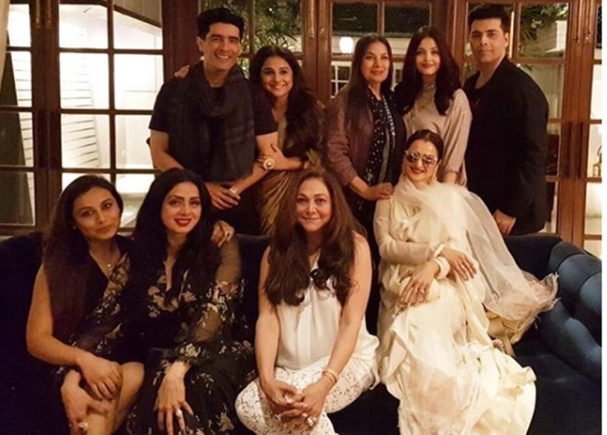 Epic Pic! Aishwarya, Sridevi, Rani, Rekha, Vidya all captured in one frame