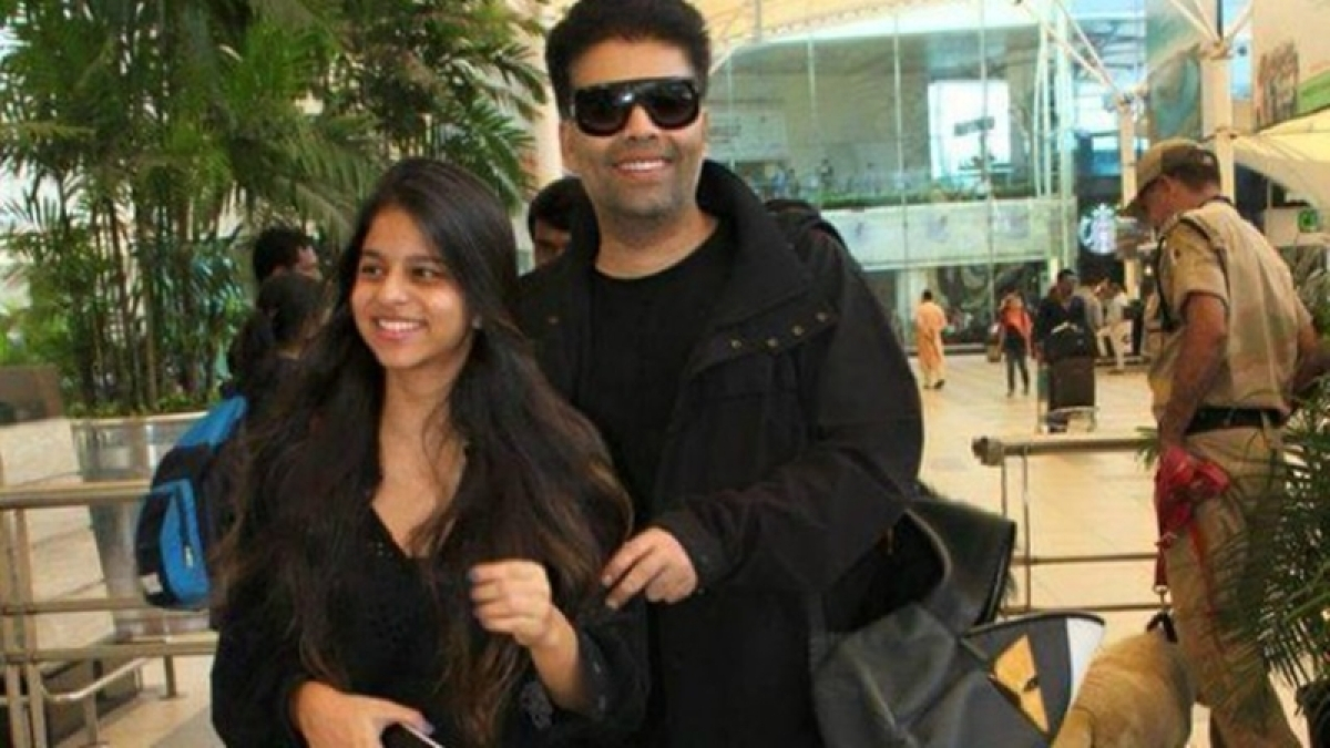 Has Karan Johar become mentor of Shah Rukh Khan's daughter Suhana?