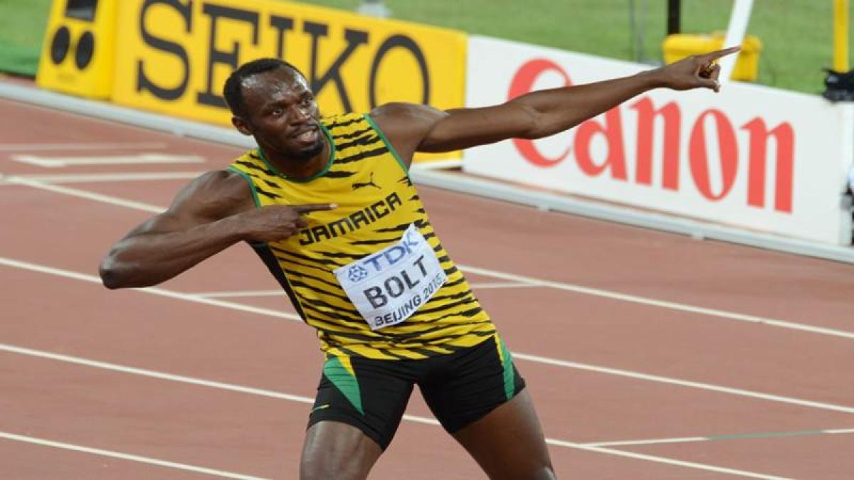 Usain Bolt made to work, Justin Gatlin jeered