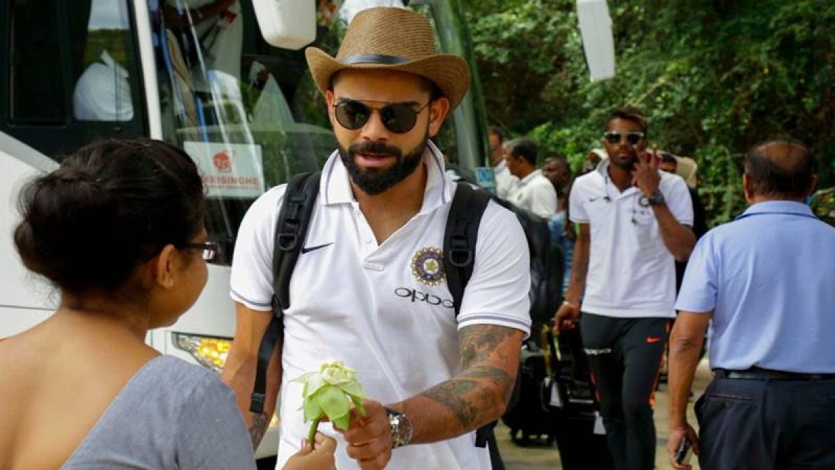 See Pics! Team India is all swag as they arrive in Dambulla for 1st ODI