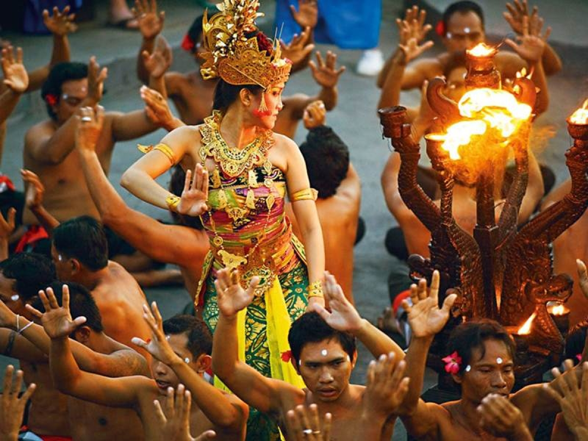 Exotic Indonesia, and the stunning Indian influence