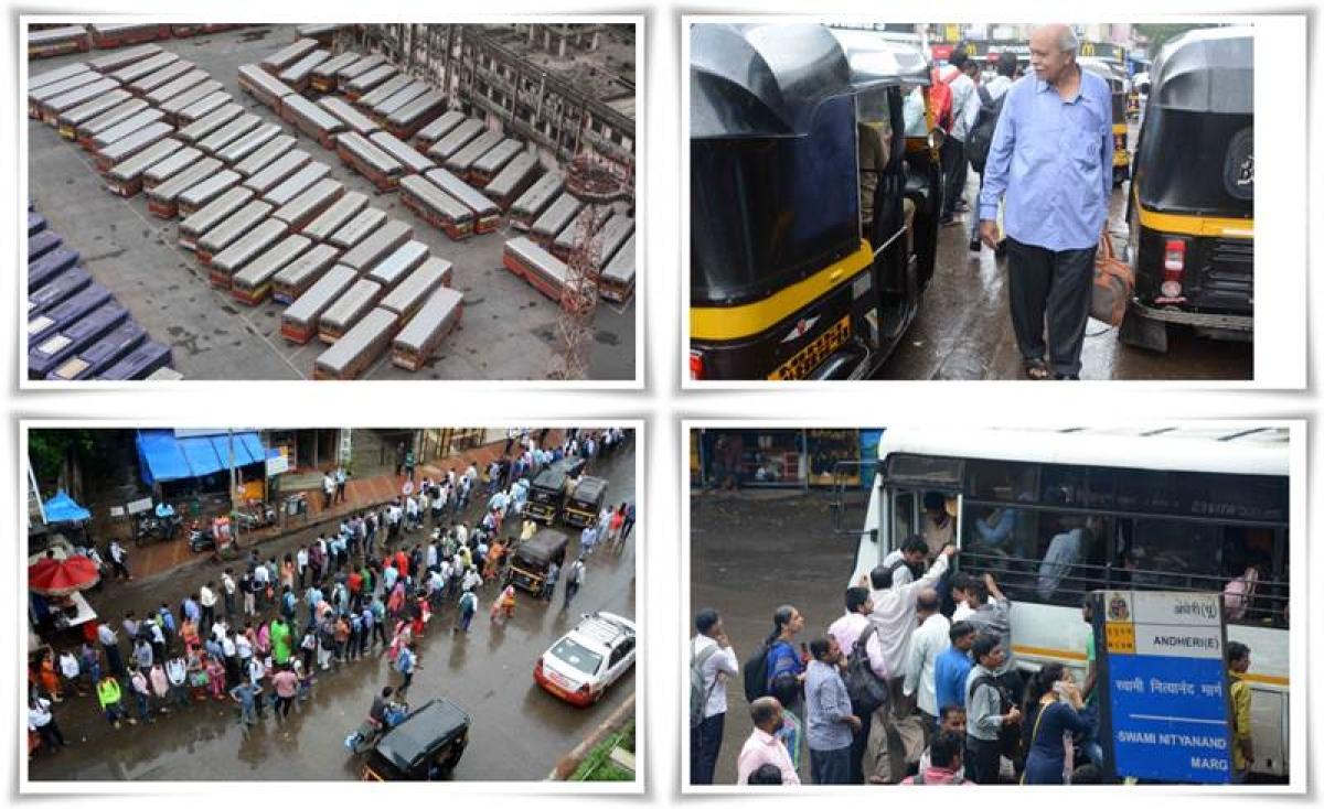Mumbai BEST strike create chaos; Not so happy Raksha Bandhan for commuters