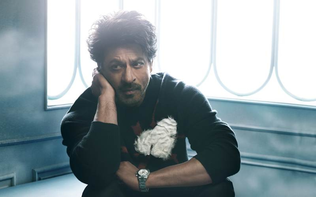 SRK says he gets a thrill out of working in films and never gets bored from doing them