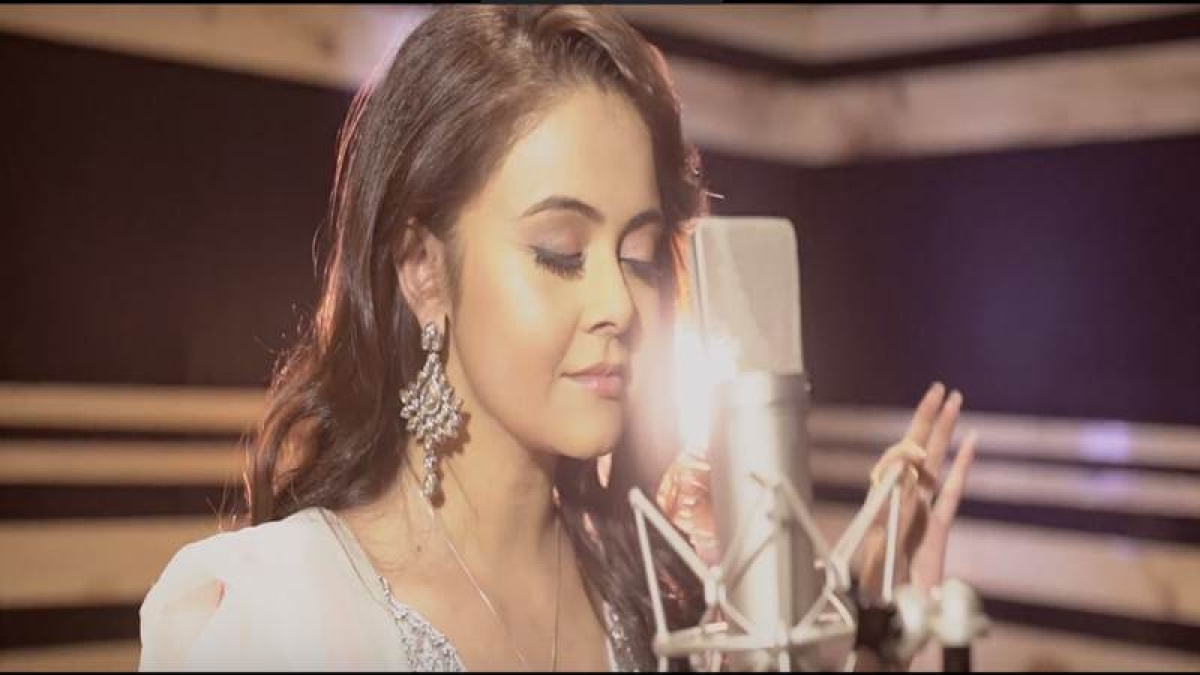 Exclusive: Gopi bahu aka Devoleena Bhattacharjee debut as singer from the song 'Hey Gopal…'