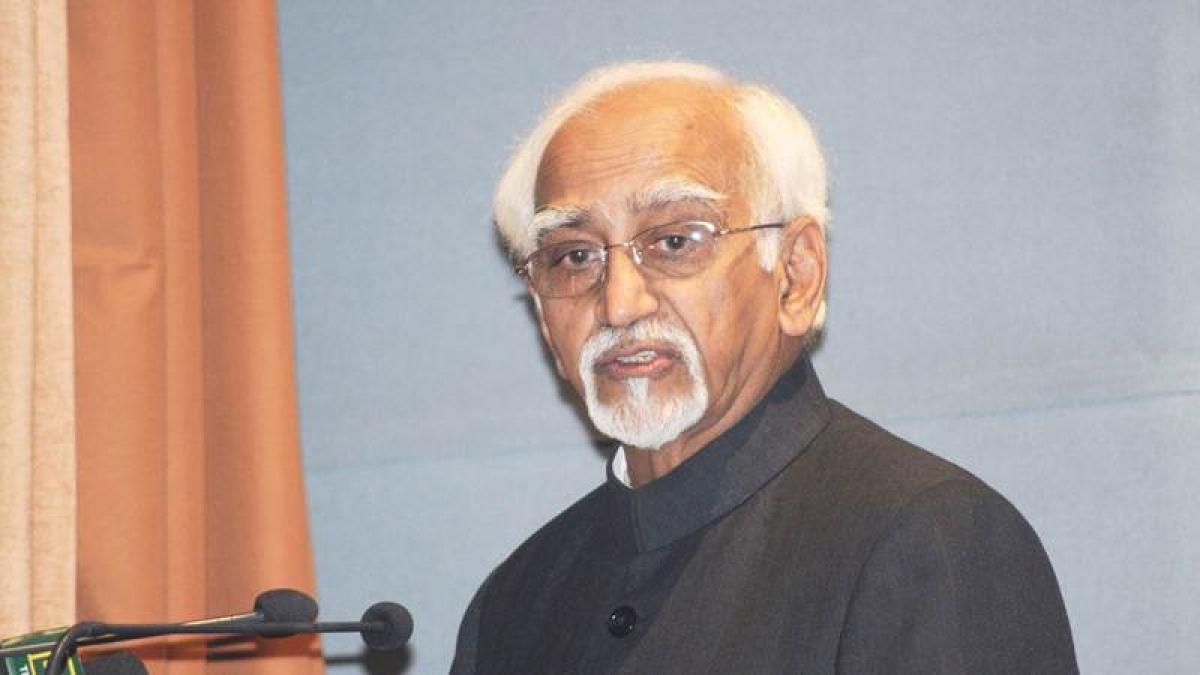 Bhopal: Hamid Ansari hits at intolerance, imposition of sedition law