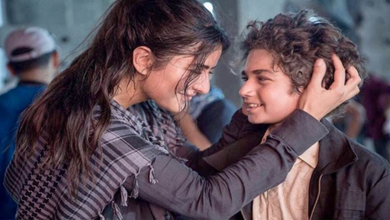 Katrina introduces her little co-star from Tiger Zinda Hai who talks more than her, see photo