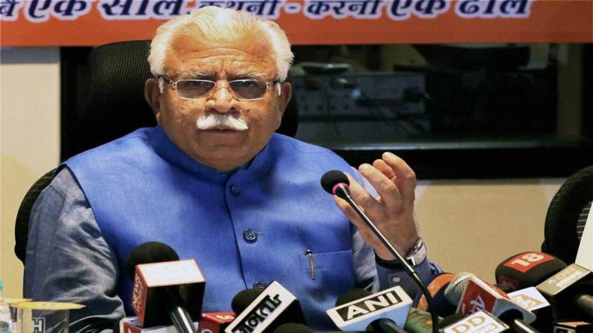 Haryana teen rape case: Don't politicise rapes, ML Khattar tells Opposition