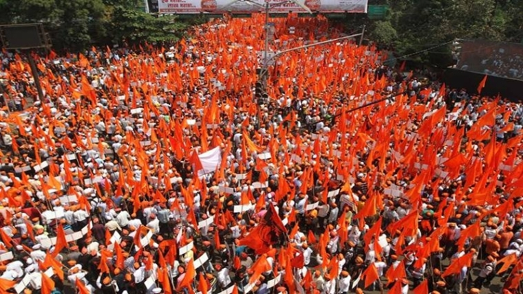 Maratha Quota Stir: Mumbai remains silent; unrest in Marathwada, Nashik