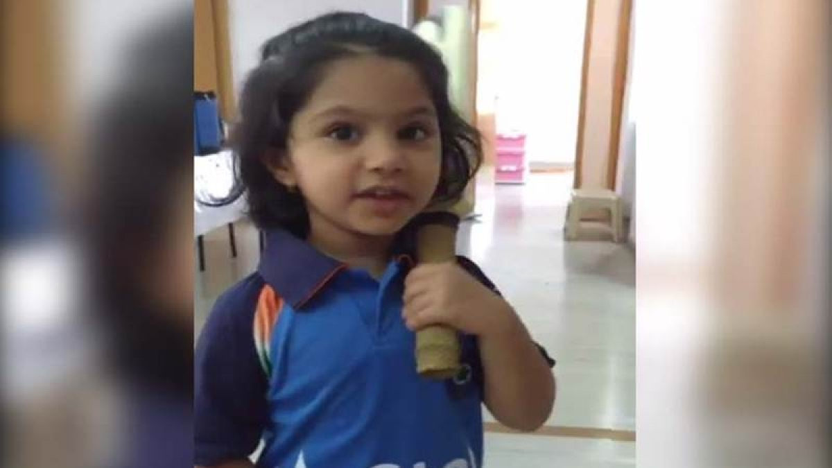 Video of little girl dressed as Mithali Raj is super cute. Indian captain also thinks so