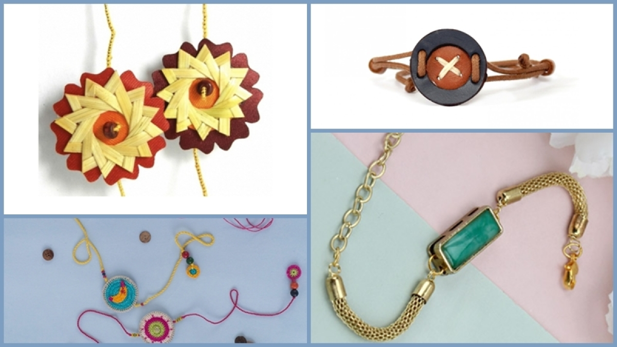 Ditch the usual thread Rakhis and try these quirky ones this Raksha Bandhan