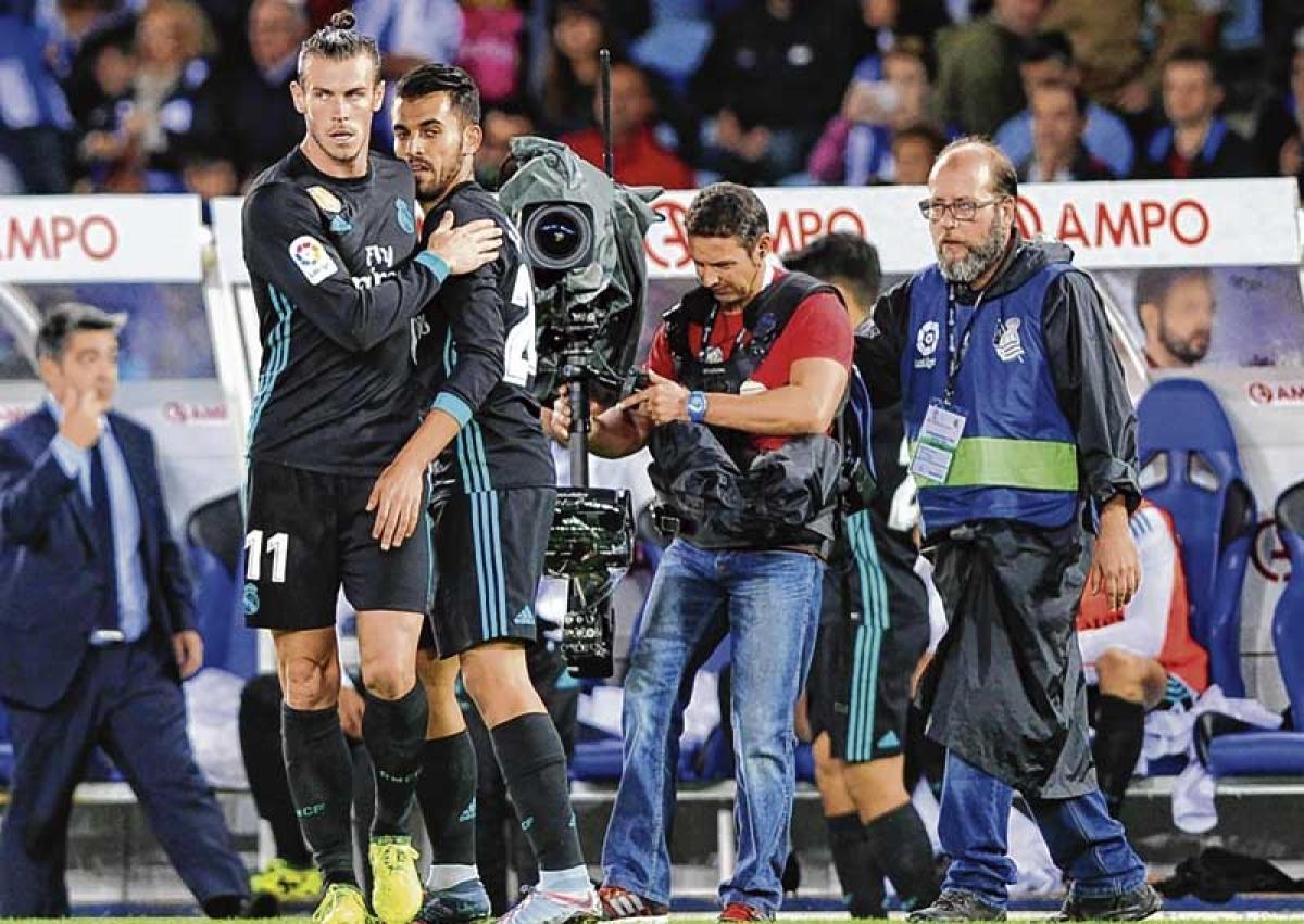 Bale strikes in vital Madrid win at Sociedad