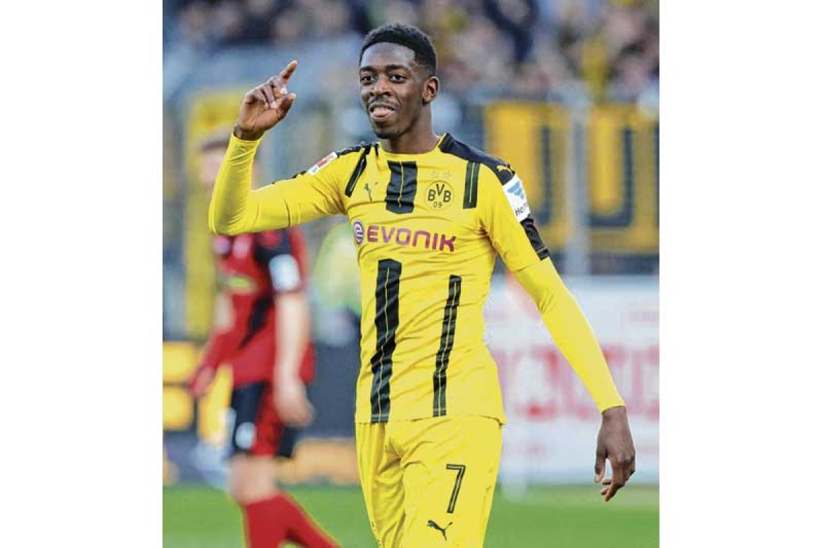 Ousmane Dembele travels to Finland to undergo surgery