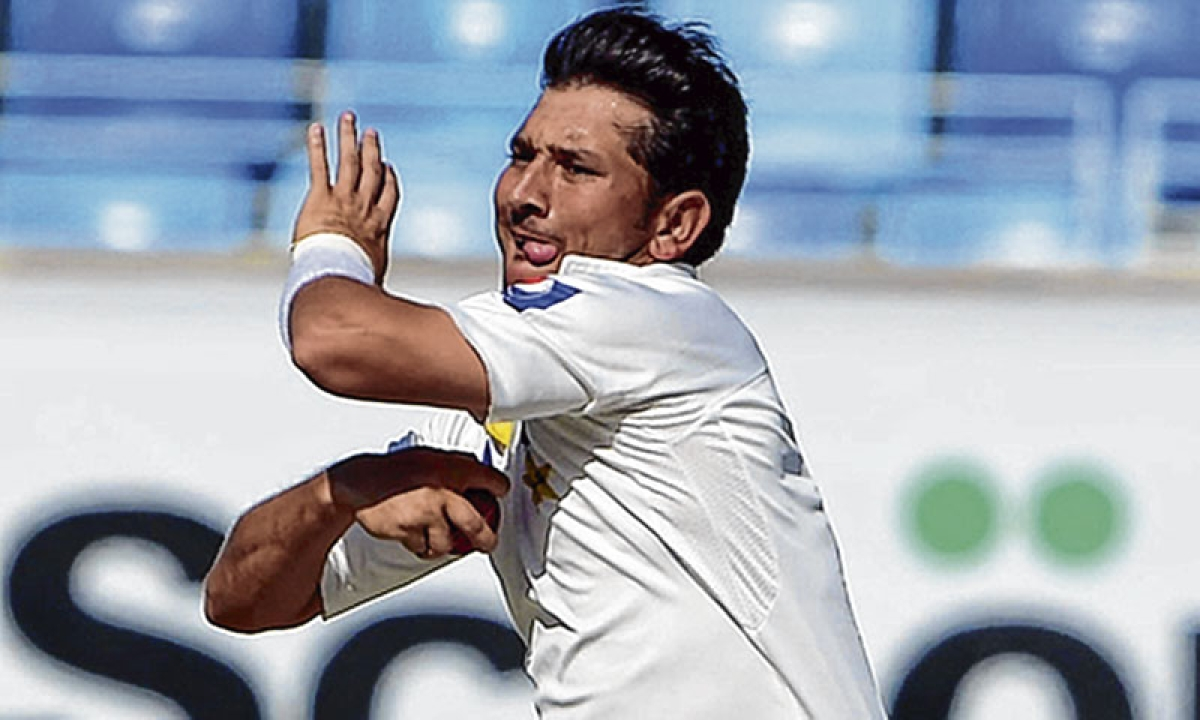 Pakistani cricketer Yasir Shah invites trouble after lip syncing to Bollywood song in video