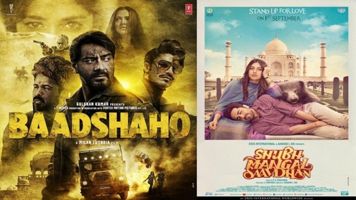 'Baadshaho' and 'Shubh Mangal Saavdhan' witness steady first week