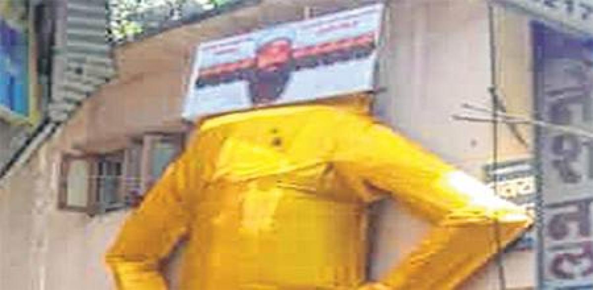 Indore: Big blow to Ram Rahim dahan on Dussehra
