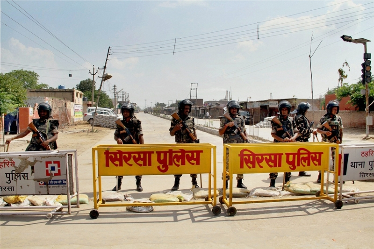 Dera crackdown Day 2: Curfew continues, internet suspended in Sirsa